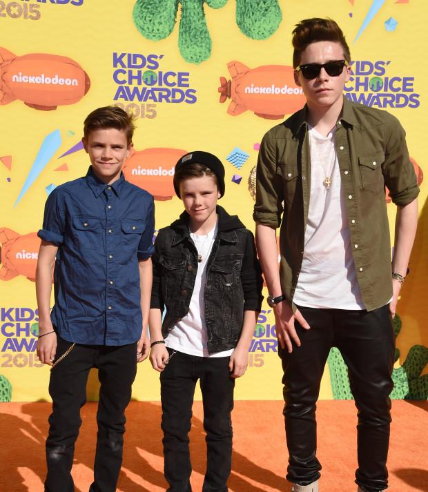 Nickelodeon's Kids' Choice Awards 2015 | The Beckham Boys