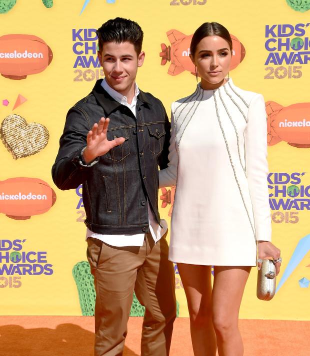 Nickelodeon's Kids' Choice Awards 2015 | Nick Jonas & Olivia Culpo