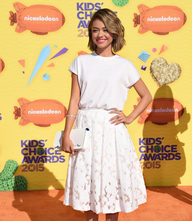 Nickelodeon's Kids' Choice Awards 2015 | Sarah Hyland