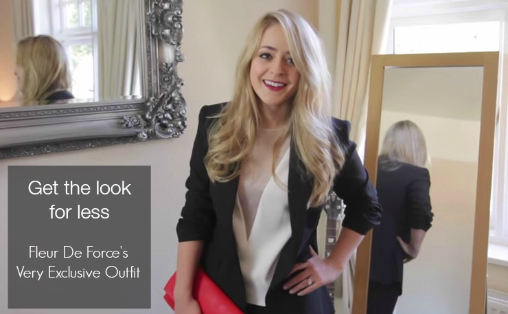 Get the look for less - Fleur De Force's Very Exclusive Outfit