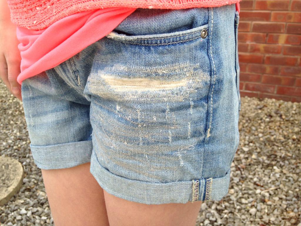 Denim Shorts - H&M