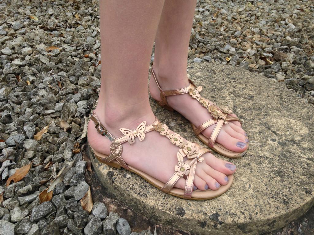 Bronze Sandals - Shoe Zone