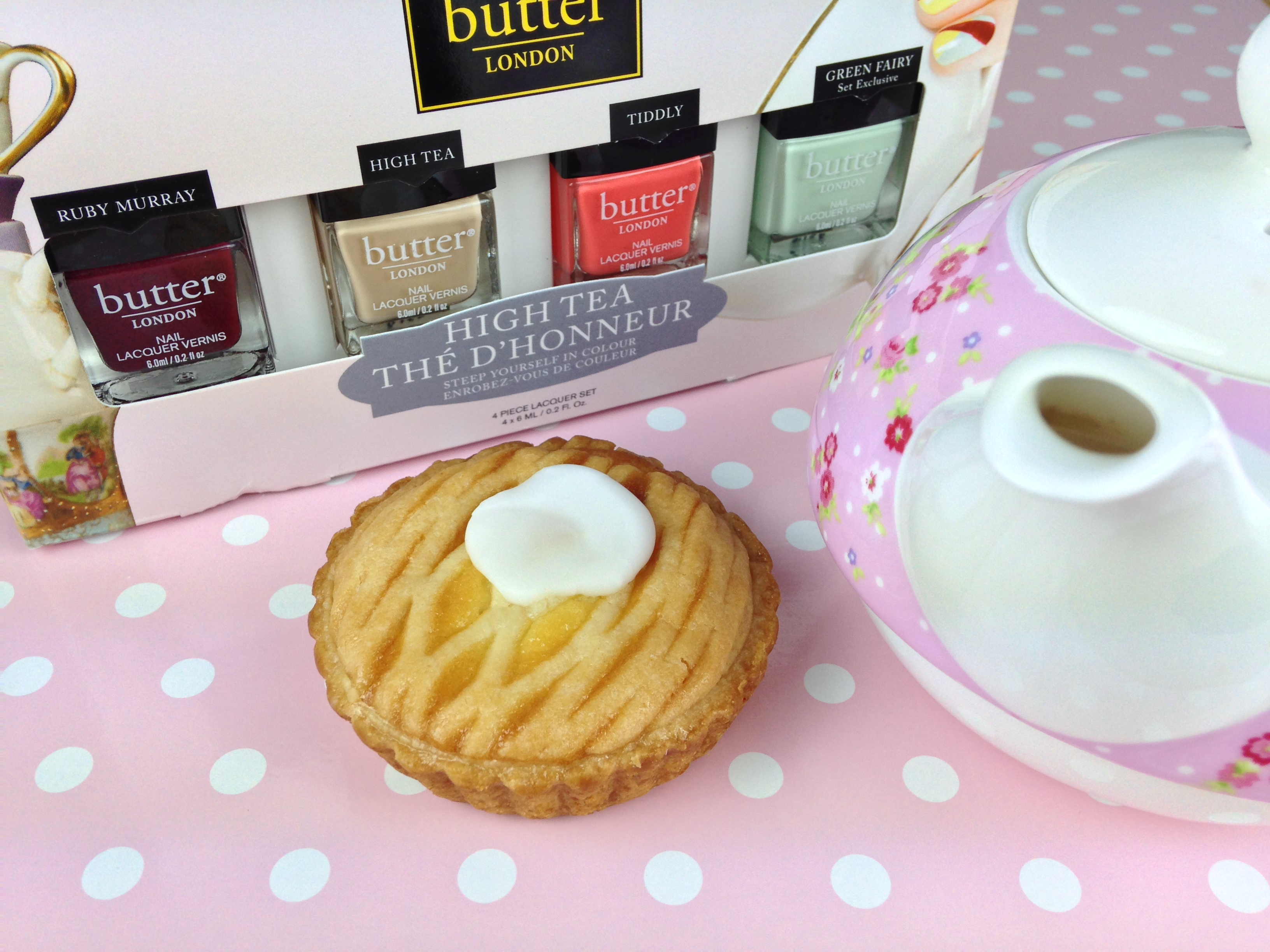 High Tea Collection from Butter London - With love from Lou