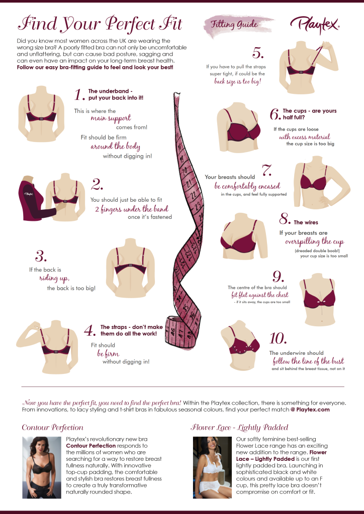 Bra Fitting Tips for Beginners