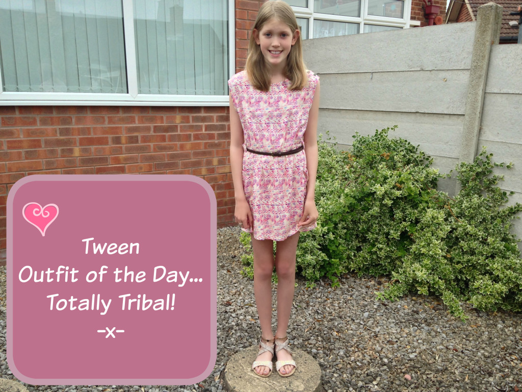 Tween Outfit of the Day - Totally Tribal