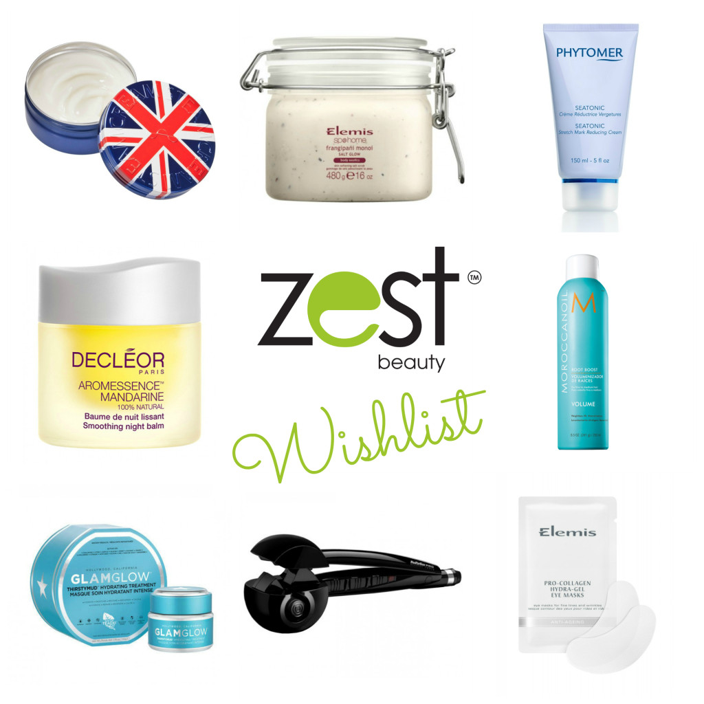 Zest Beauty Wishlist