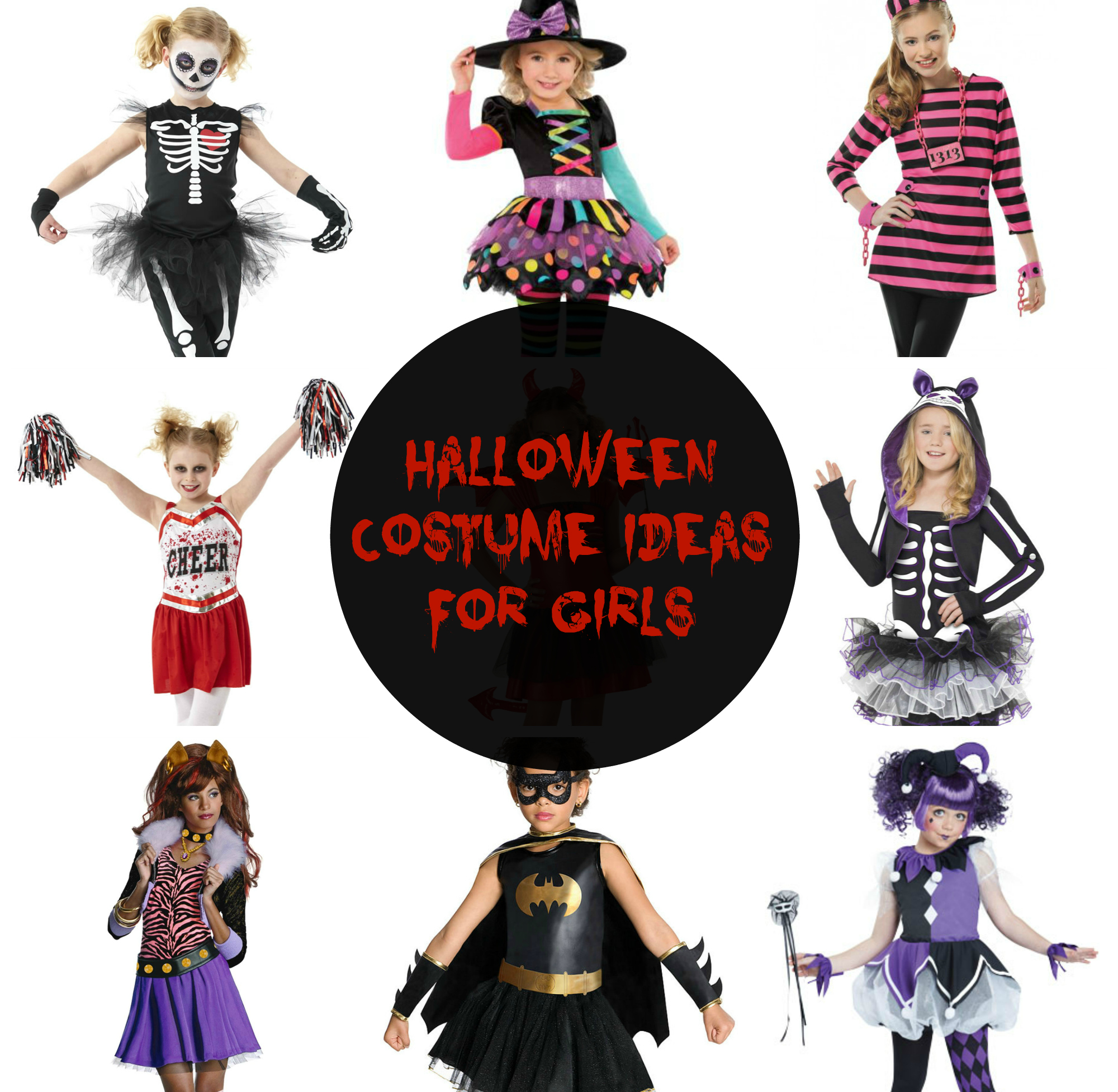 halloween costume ideas for girls - with love from lou