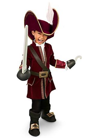Captain Hook Halloween Costume for Boys