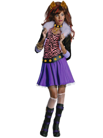 Clawdine Wolf Halloween Costume for Girls