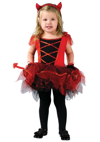 Devilina Halloween Costume for Toddlers