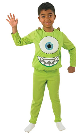 Mike from Monsters University Halloween Costume for Boys