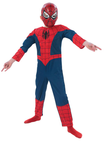 Spiderman Halloween Costume for Boys