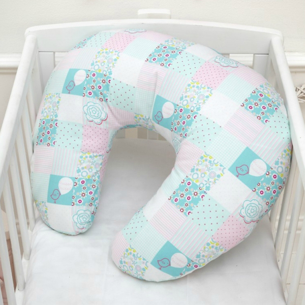 Tweet Dreams Nursing Pillow - Baby Shower Gift Idea