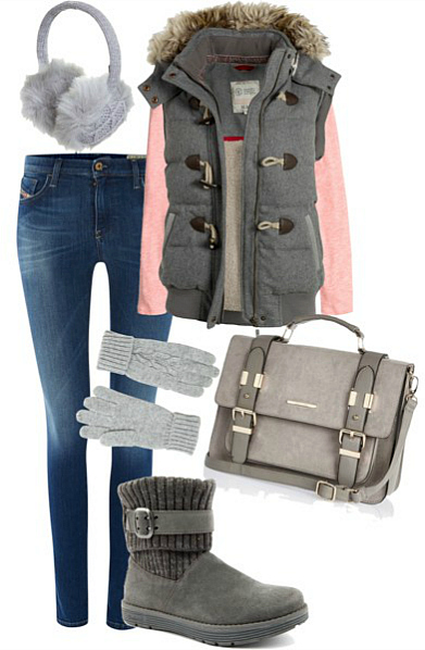 Autumn Outfit with Cute Gilet