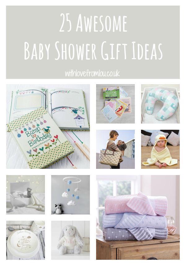 Baby Gift Ideas Uk : Awesome baby shower gift ideas with love from lou