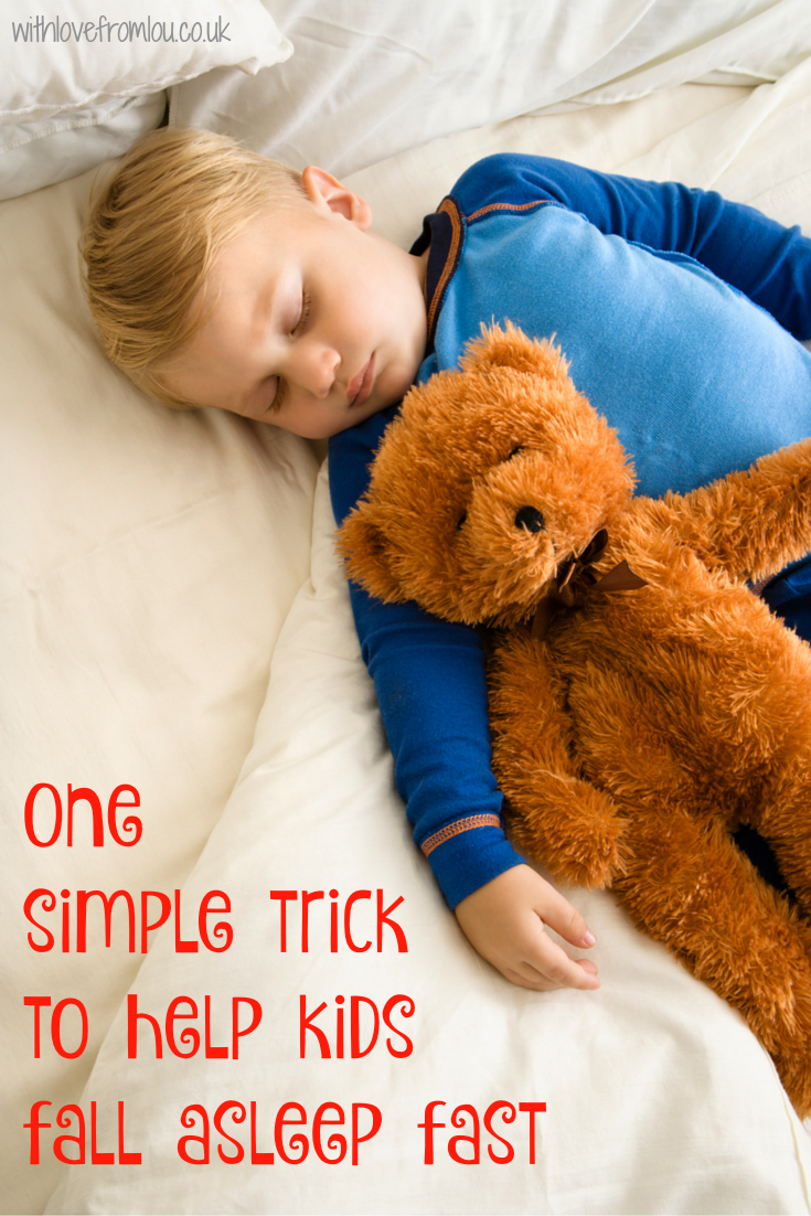 One Simple Trick To Help Kids Fall Asleep Fast