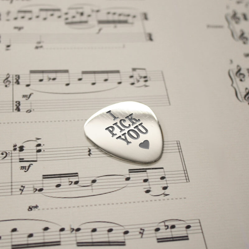 Personalised Plectrum - Prezzybox