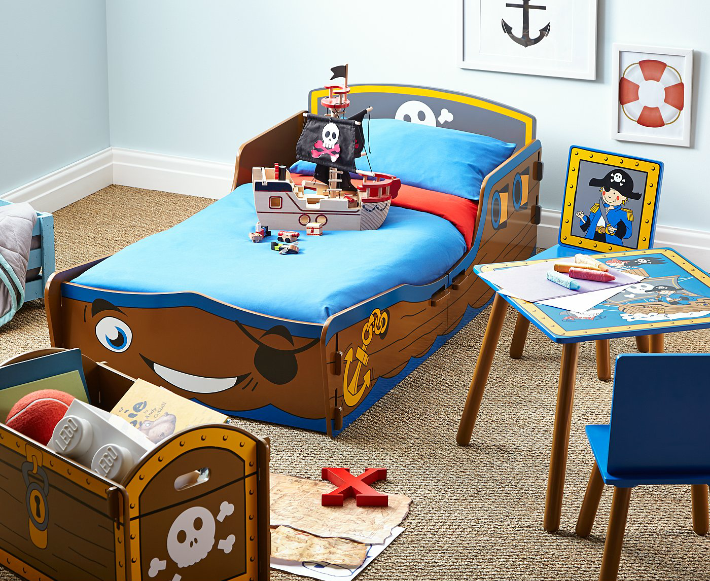 Pirate Themed Bedroom Ideas for Toddlers - With love from Lou