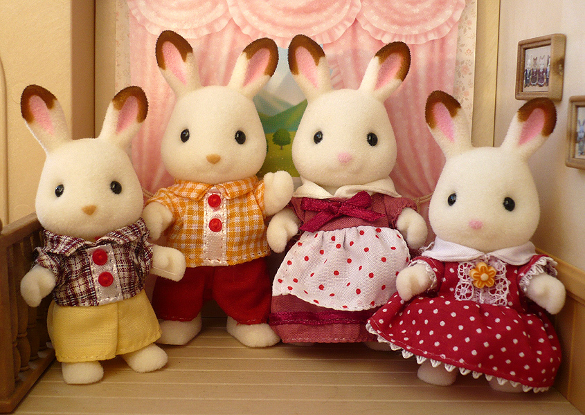 Chocolate Rabbit Family - John Lewis