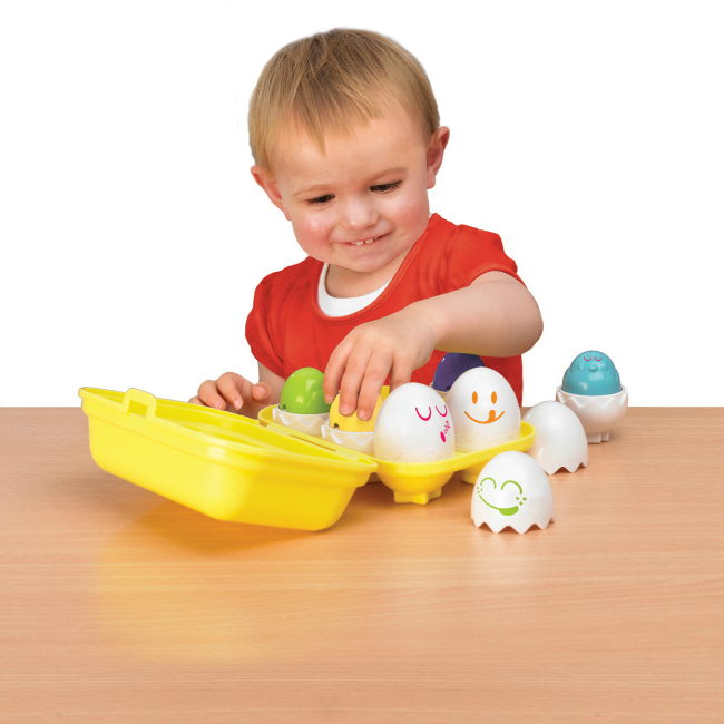 Hide & Squeak Eggs - Amazon