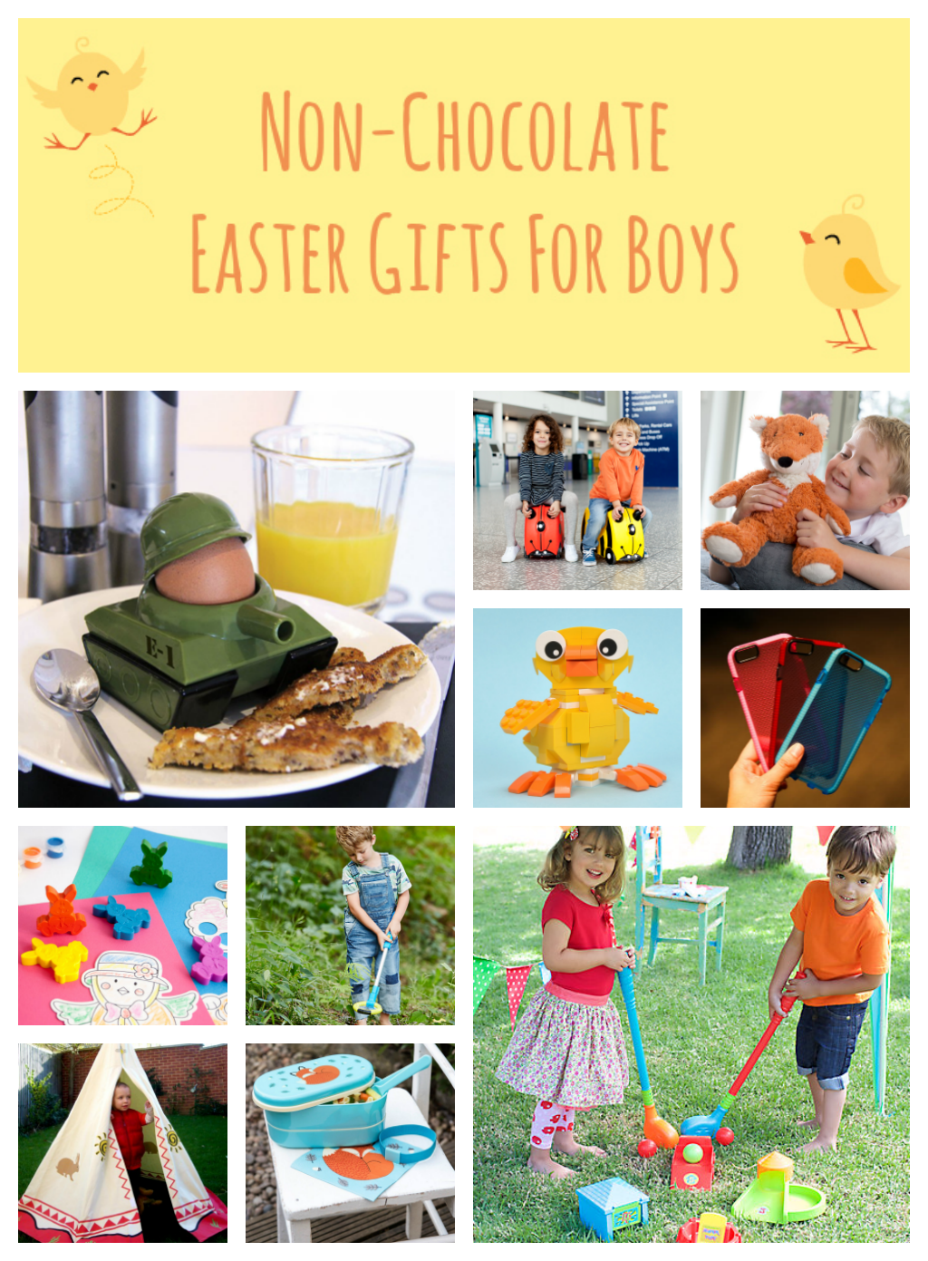 Non-Chocolate Easter Gifts for Boys