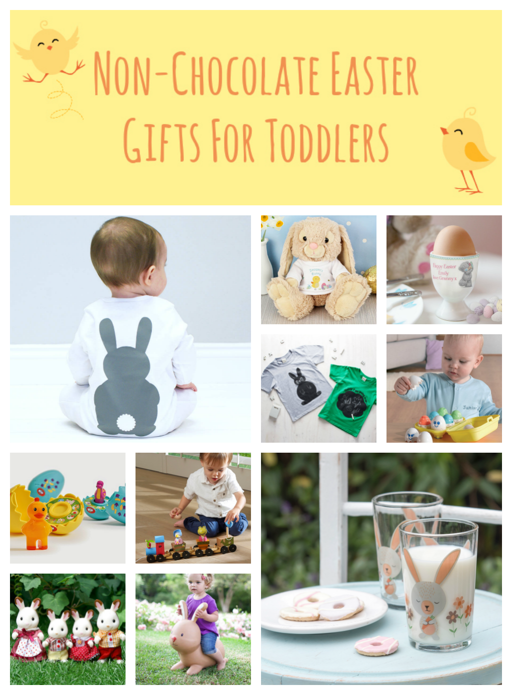 Great easter gifts for toddlers quick and easy easter diy basket non chocolate easter gifts for toddlers with love from lou negle Image collections