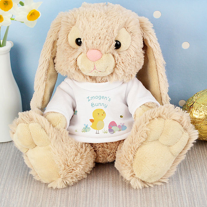 Non chocolate easter gifts for toddlers with love from lou personalised easter bunny born gifted negle Gallery