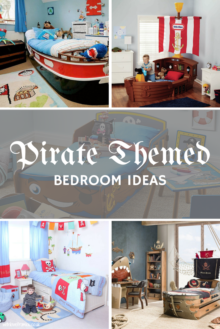 Pirate themed bedroom ideas for toddlers with love from lou for Bedding ideas 2016