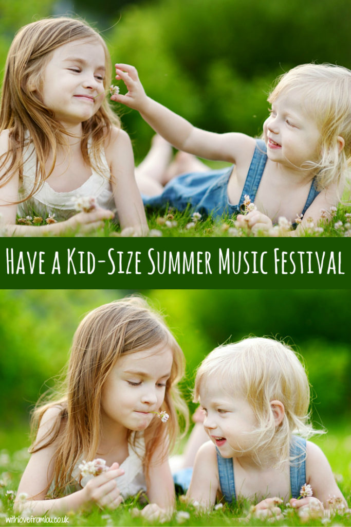 Have a Kid-Size Summer Music Festival