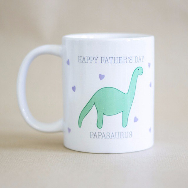 Papasaurus Mug - Prints With Feelings