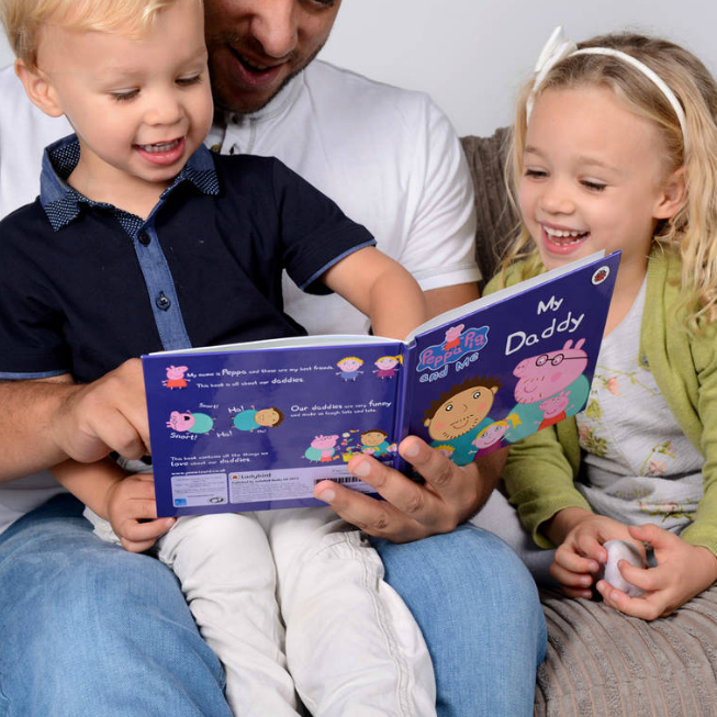 Peppa Pig 'My Daddy' Personalised Book - Penwizard