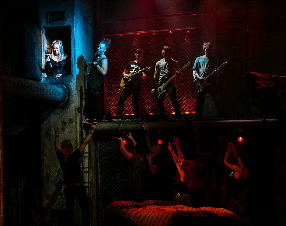 Cast of American Idiot the Musical UK