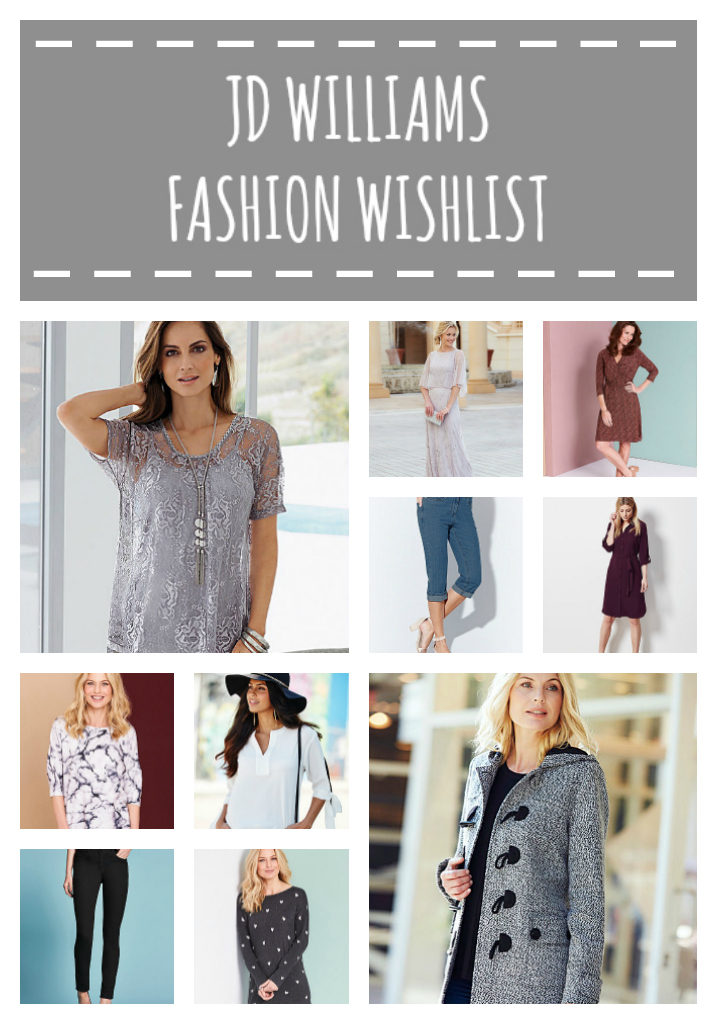 JD Williams Fashion Wishlist
