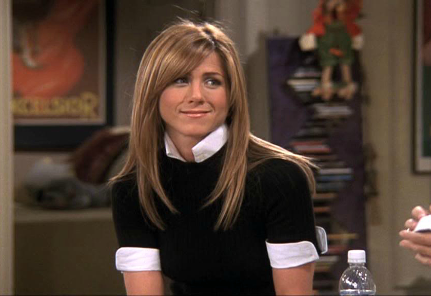 Rachel Green // Black and White Top