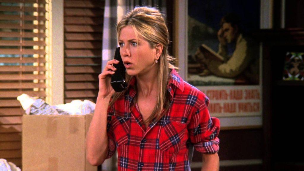 Rachel Green // Red Checked Shirt