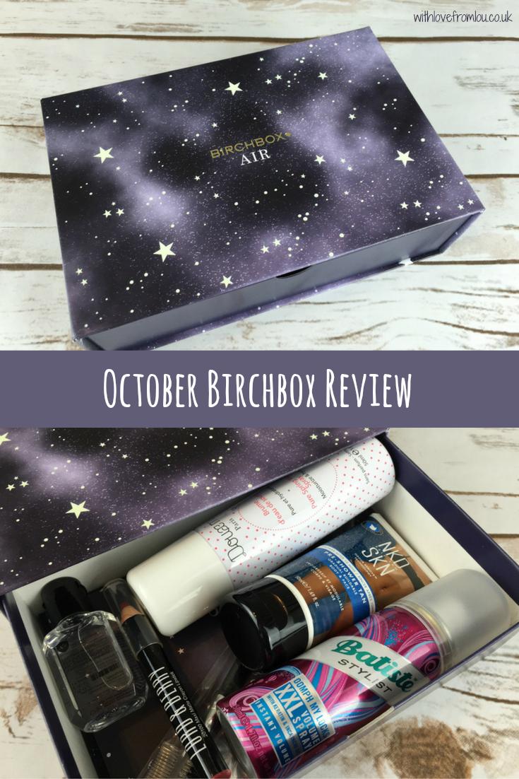 October Birchbox Review