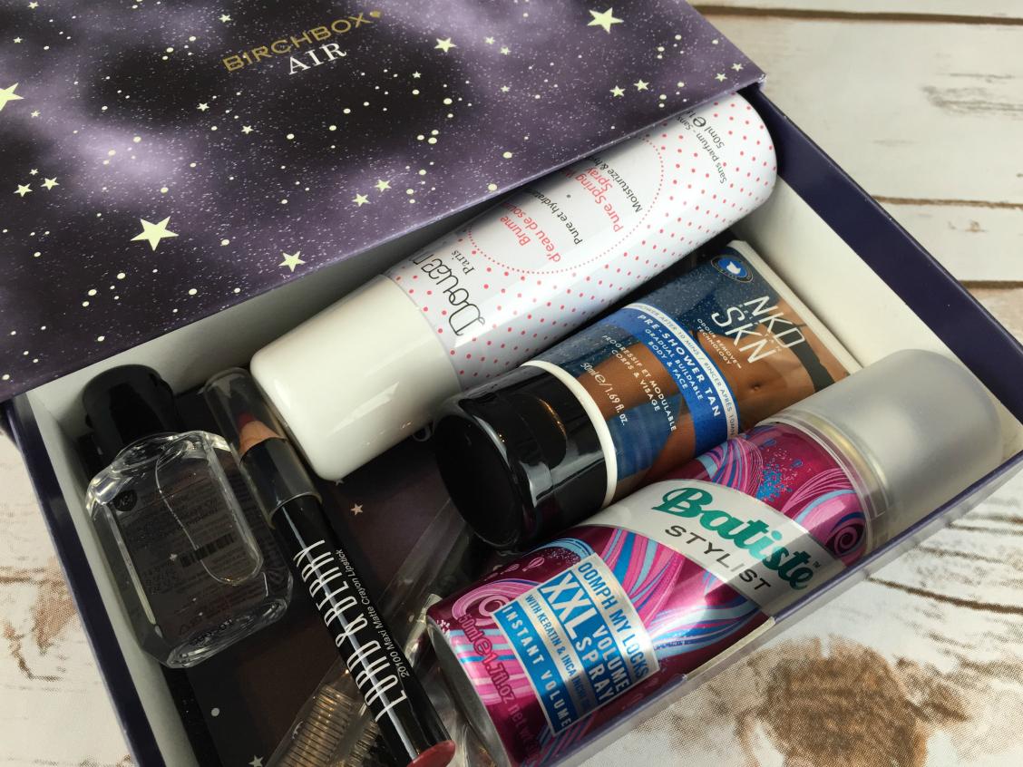 October Birchbox Products