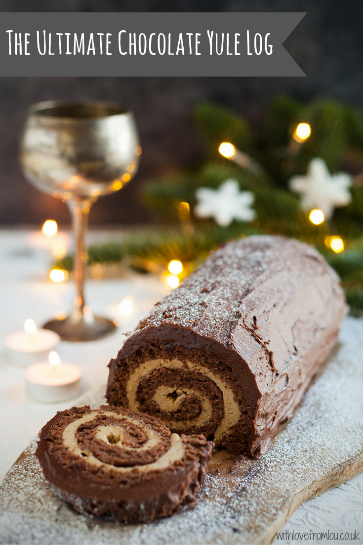 The Ultimate Chocolate Yule Log