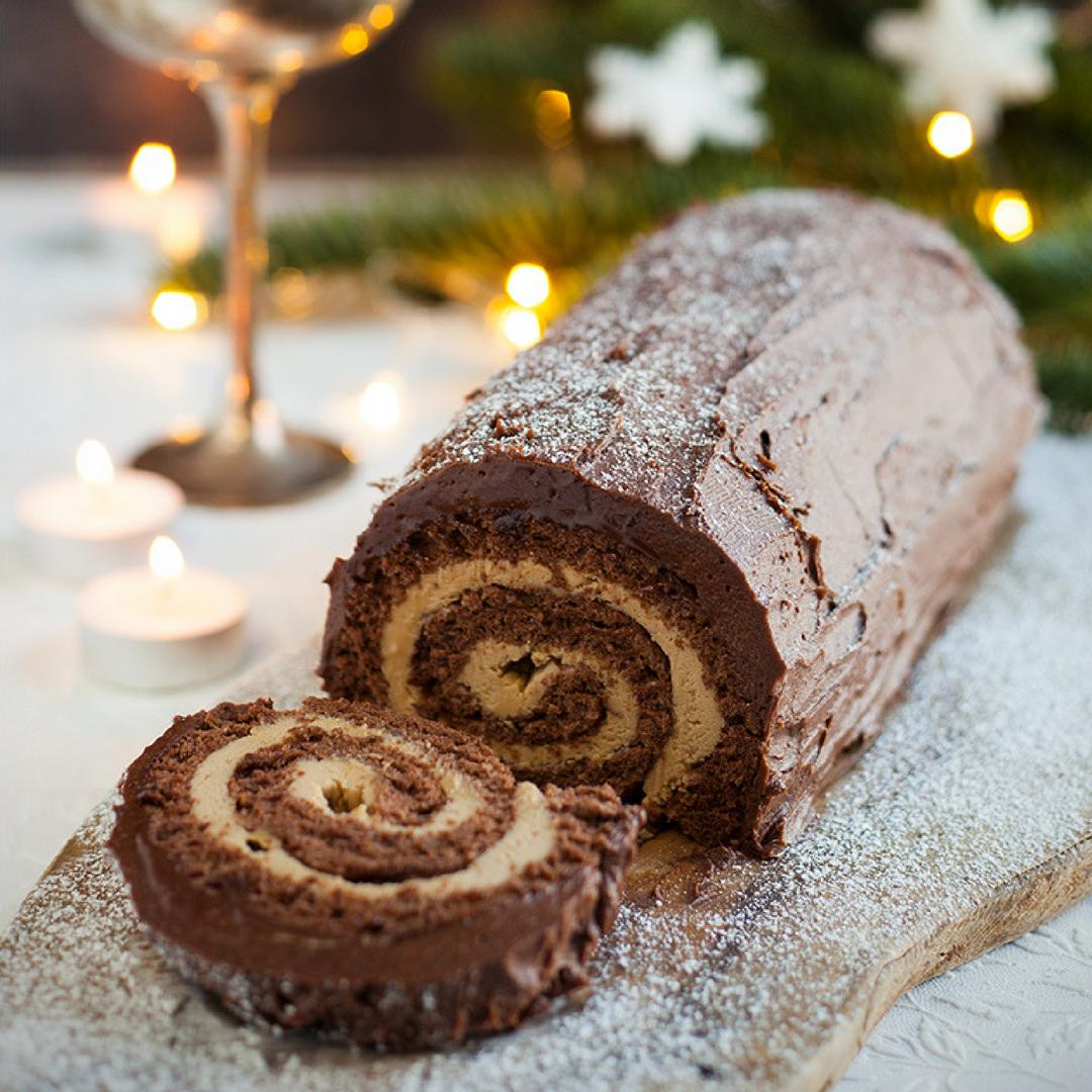 The Ultimate Chocolate Yule Log