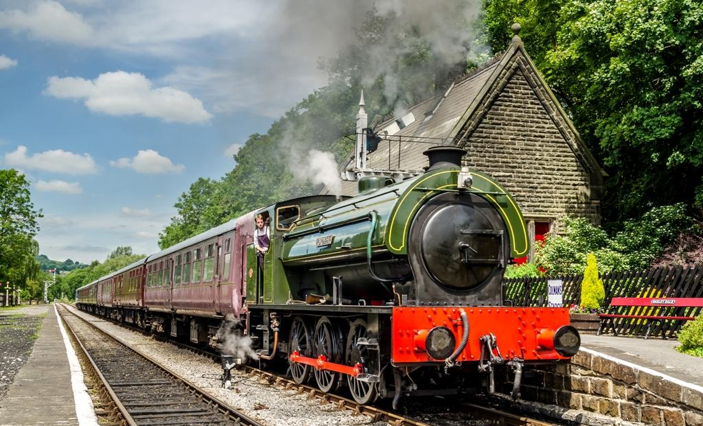Hidden Gems in Derbyshire - Peak Rail, Matlock