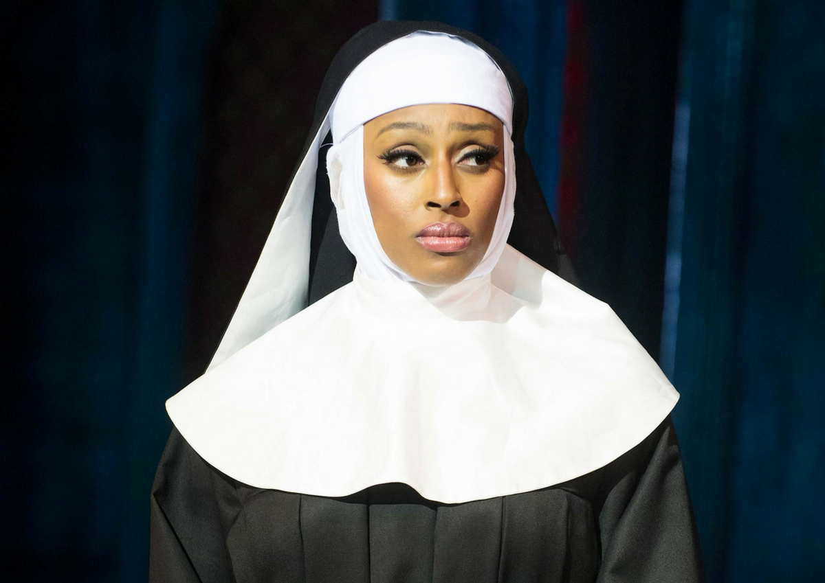 Deloris Van Cartier as Sister Mary Clarence - Sister Act the Musical