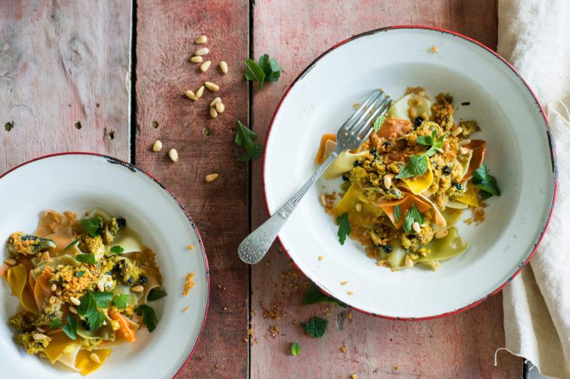 Pasta con le sarde - Sicilian Cuisine