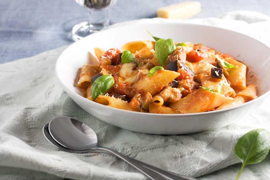Pasta alla Norma- Sicilian Cuisine