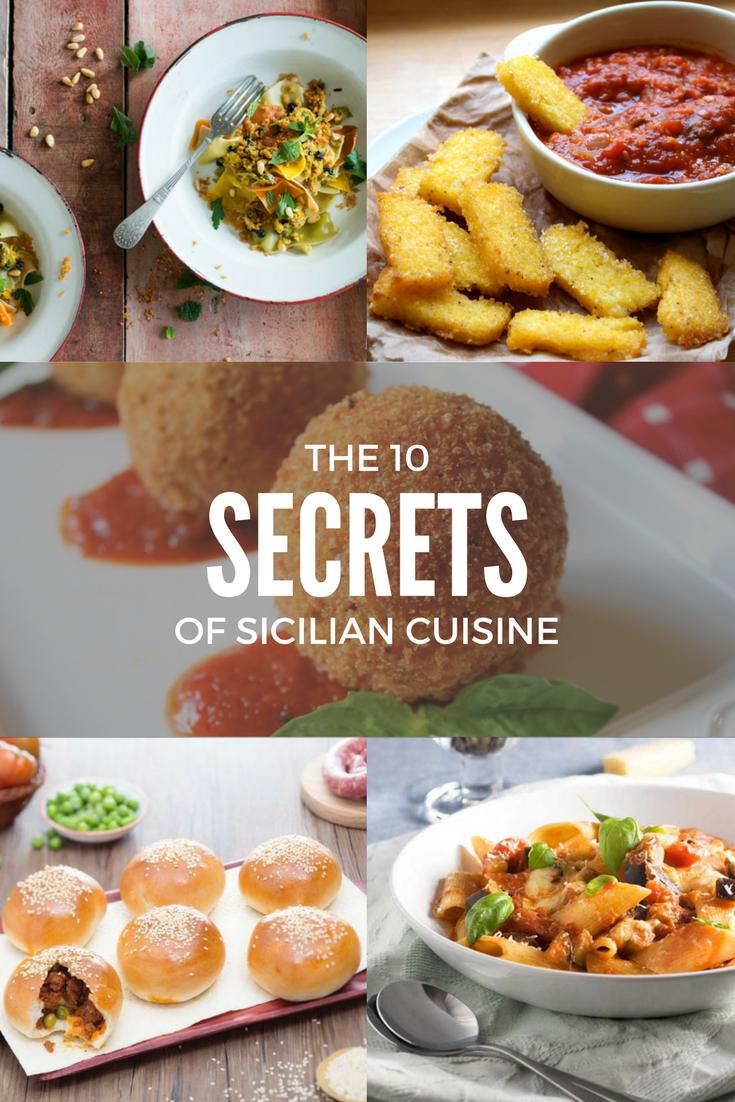 The 10 Secrets of Sicilian Cuisine