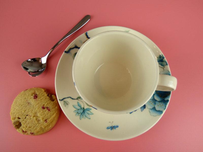 Wedgwood Blue Bird Espresso Cup & Saucer