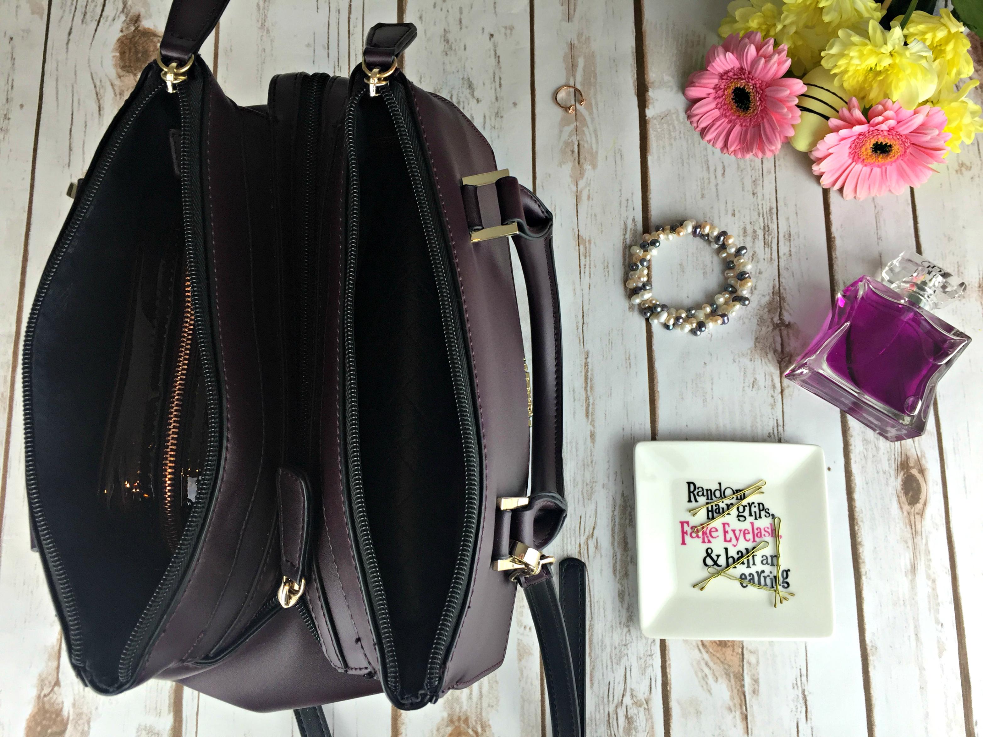 Fiorelli Mia Grab Bag in Aubergine