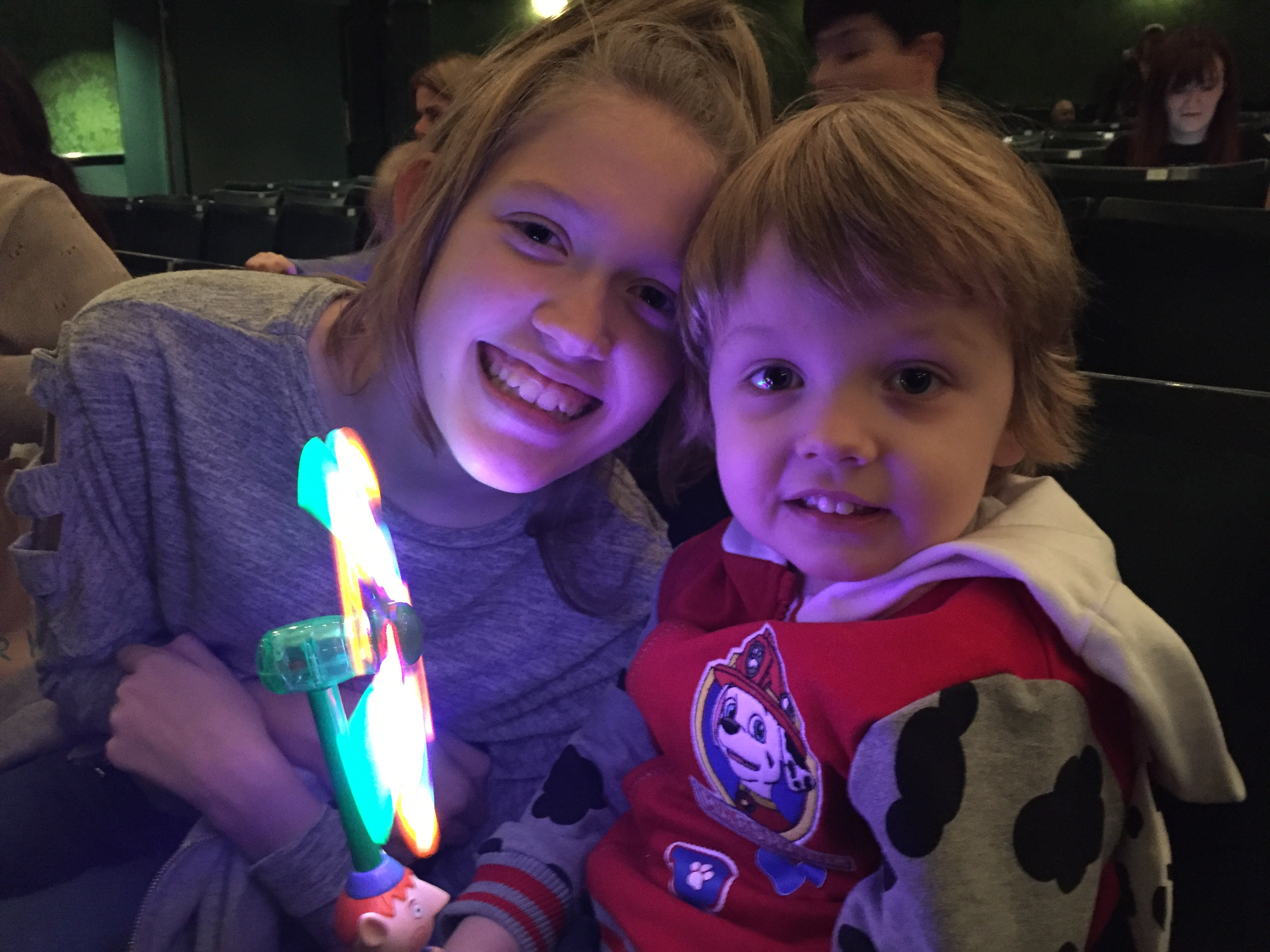 Stacey and Oscar Enjoying Ben & Holly's Little Kingdom Live