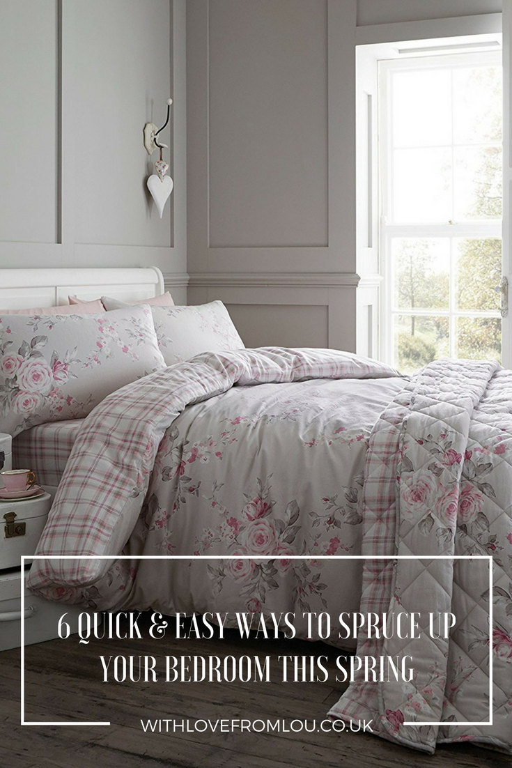 6 Quick & Easy Ways to Spruce Up Your Bedroom This Spring