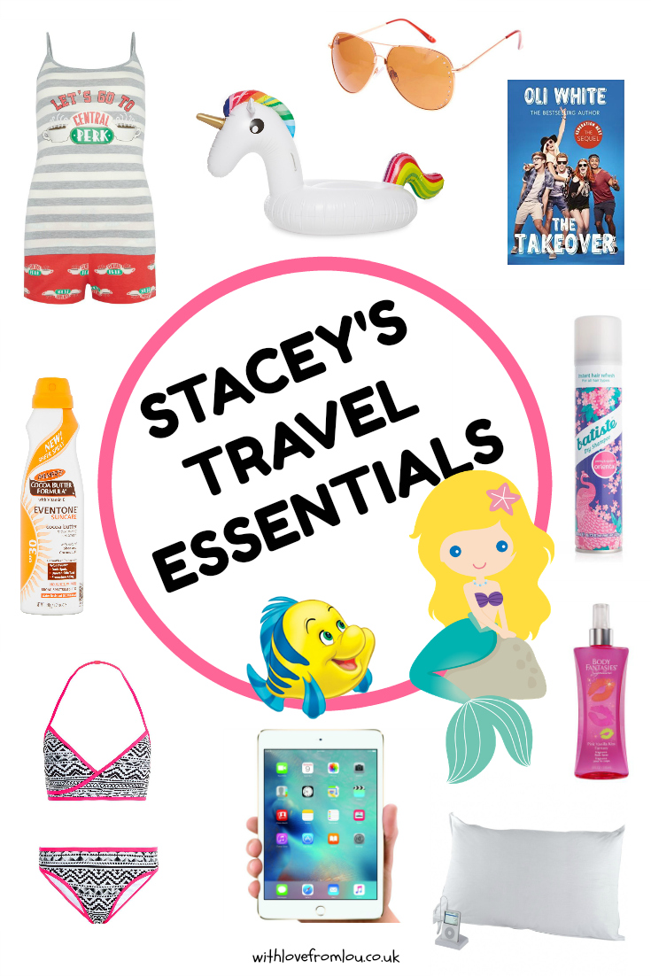 Stacey's Travel Essentials for Teen Girls
