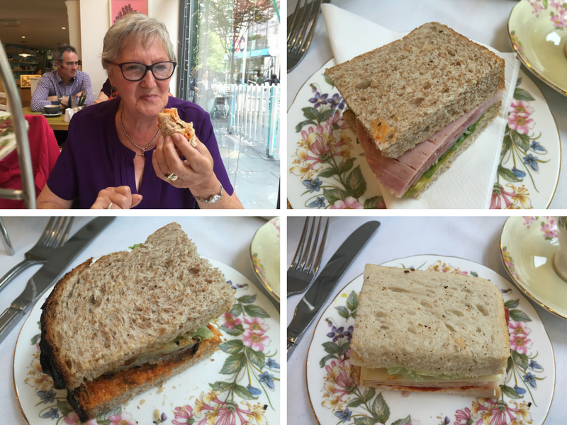Delicious Sandwiches at The Pudding Pantry